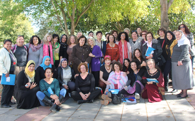 Open House women at Nes Ammim